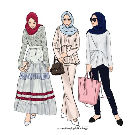 ameera zaini illustration  namirahsketches