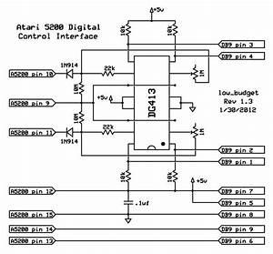 Atari 5200 Digital Controller    Adapter Similar To The