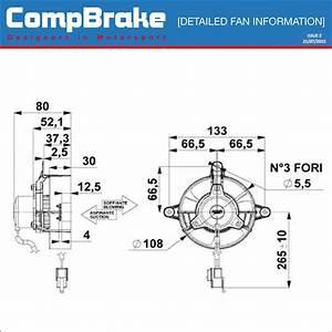 Comex 12v Motorbike Cooling Fan 4 U0026quot   100mm  Puller  Sucker