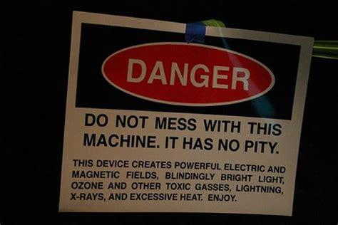 sarcastic warning signs     laughing