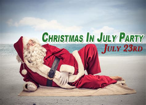 christmas in july party home fur good