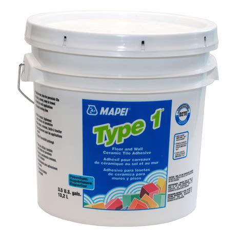 shop mapei type 1 white mastic flooring adhesive 3 5
