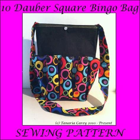 Free Square Bingo Bag Patterns