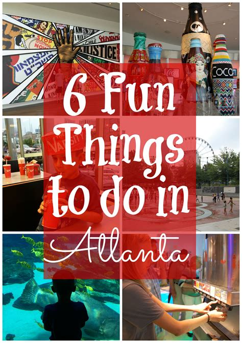 6 Fun Things To Do In Atlanta, Georgia With Kids  Atlanta, Ga