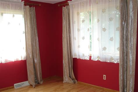 color   room  minimalist red wall color