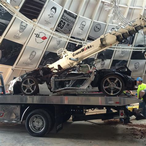 Corvette Museum Sinkhole Cars Lost by One More Corvette Left To Excavate From Sinkhole At Museum