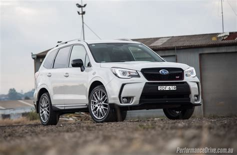 forester subaru 2016 2016 subaru forester ts sti review video performancedrive