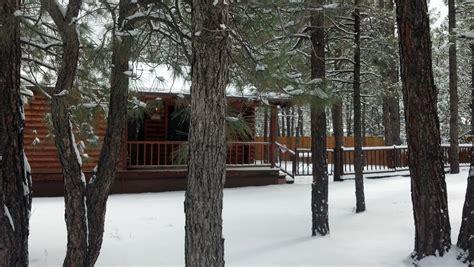 bear cabin pinetop arizona white mountain cabin