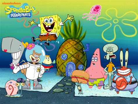 Spongebob Cast Wallpaper By Kingbilly97 On Deviantart