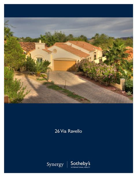 ravello  synergy sothebys international realty issuu