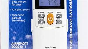 Appliance Pro Air Conditioning Universal Remote Control