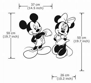 Micky Maus Wandtattoo : disney character micky minni maus vinyl wandtattoo wandaufkleber wd 0274 disney pinterest ~ Orissabook.com Haus und Dekorationen