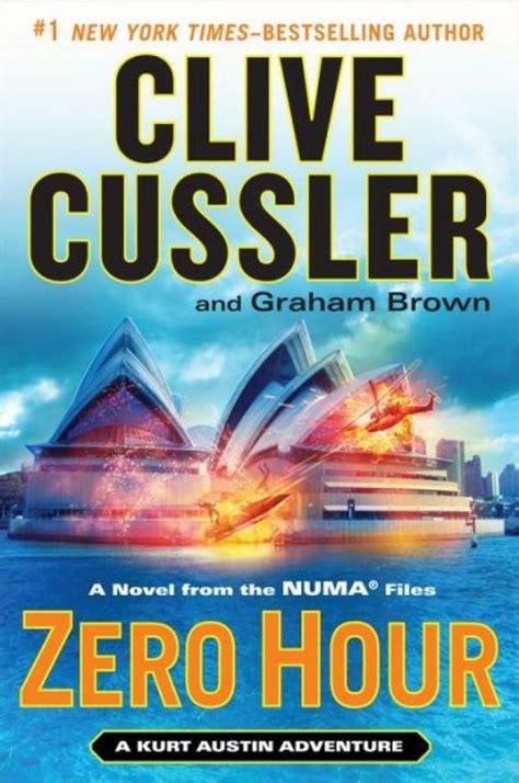 zero hour numa series books cussler clive graham brown exciting addition order novel author zavala joe number ad close times