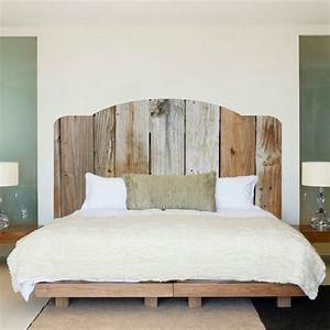 Tete De Lit Chic Et Design : fabriquer une t te de lit en bois c 39 est simple et c 39 est chic ~ Teatrodelosmanantiales.com Idées de Décoration