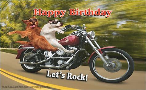 Funny Motorbike Birthday Cards