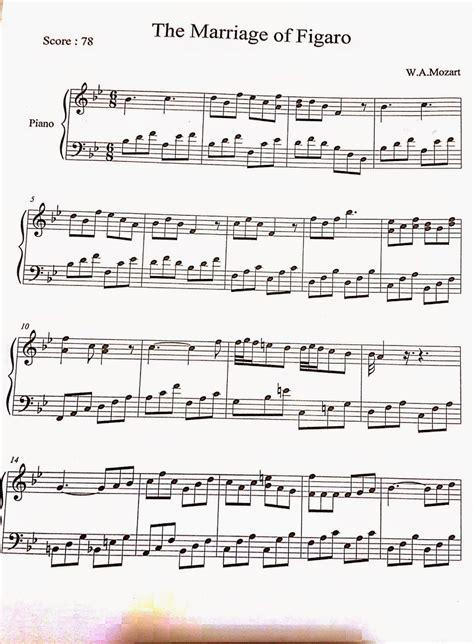 214 zel piyano dersi the marriage of figaro w a mozart