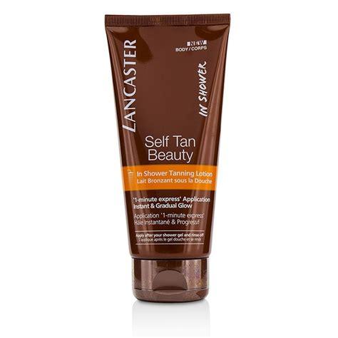 Lancaster Self Tan Beauty Shower Tanning Lotion Fresh