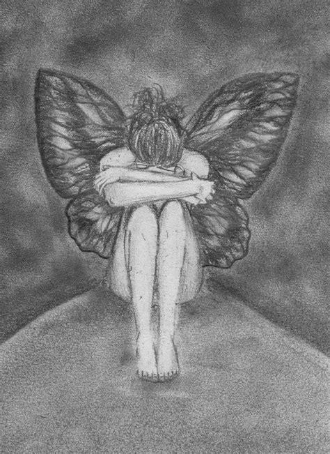 sad fairy drawings google search drawings fairy