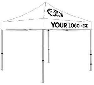 ez pop  canopy tent vendor booth custom canopy     logo