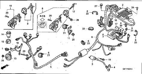 2003 Crf450r Wiring Diagram by Powerplant Motorcycles Chf50 Crea Scoopy 2003 Wire