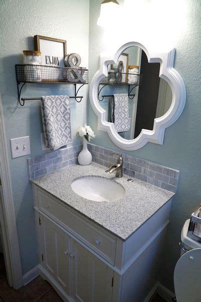 bathroom mirrors ideas  pinterest farmhouse kids mirrors guest bath  decorative