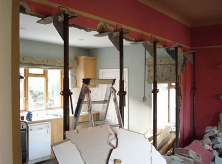 how to remove a load bearing interior wall home dzine home improvement load bearing walls how to tell