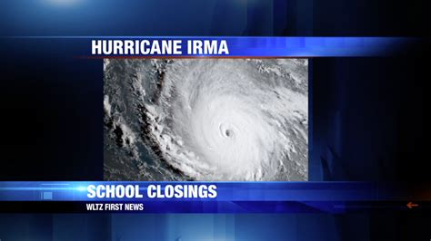 updated 1 00pm 091117 area closings due to hurricane irma