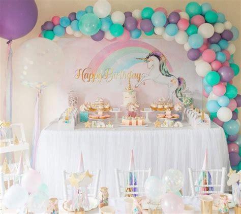 décoration anniversaire thème licorne d 233 coration ballon anniversaire fille pour organiser une f 234 te g 233 niale