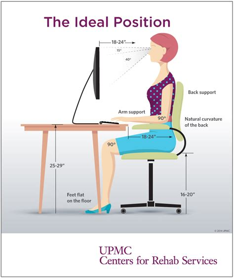 best way to sit at desk how to improve posture while sitting desks desk height