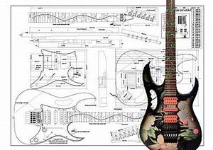 Ibanez Jem U00ae Full Scale Electric Guitar Plan