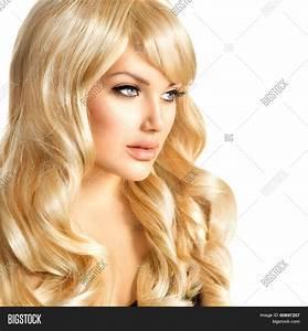 Beauty Blonde Woman Portrait Image Photo Bigstock