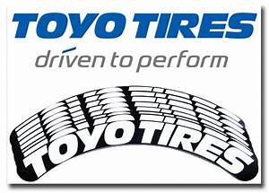 toyo tires tire stickers white and black tire stickers With white letter decals