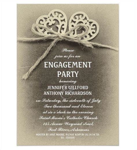 12+ Engagement Ceremony Invitations Word PSD AI Free