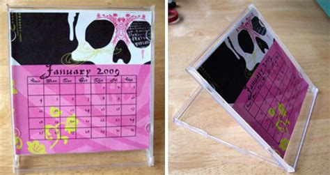 make a desk calendar with pictures home dzine craft ideas make your own desk calendar