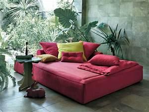 Lit Exterieur Jardin : am nagement ext rieur piscine avec du mobilier design ~ Teatrodelosmanantiales.com Idées de Décoration