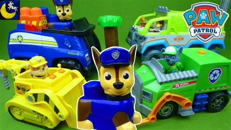 Paw Patrol Toys Rubble Rocky Lights And Sounds Ionix Jr