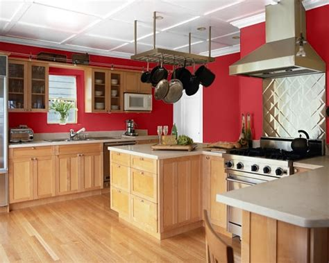 white colour kitchen making your home sing red paint colors for a kitchen 411 | Gypsy Red Kitchen