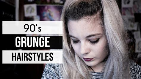 90s Grunge Hairstyles 10 grunge hairstyles 90 s