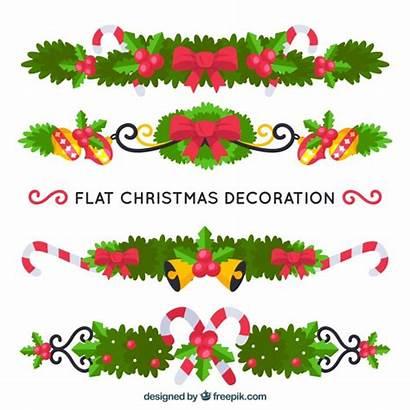 Ornaments Floral Freepik Floralen Weihnachtsschmuck Stil