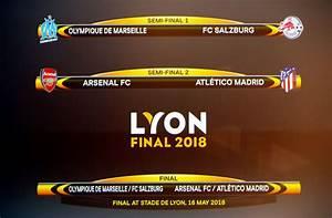 Europa semis: Atletico face Arsenal, Marseille drawn ...
