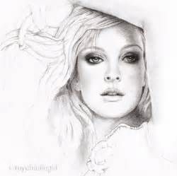 Pretty Girl Face Drawing Pencil