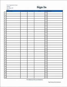best photos of editable sign in sheet printable editable With editable sign in sheet template