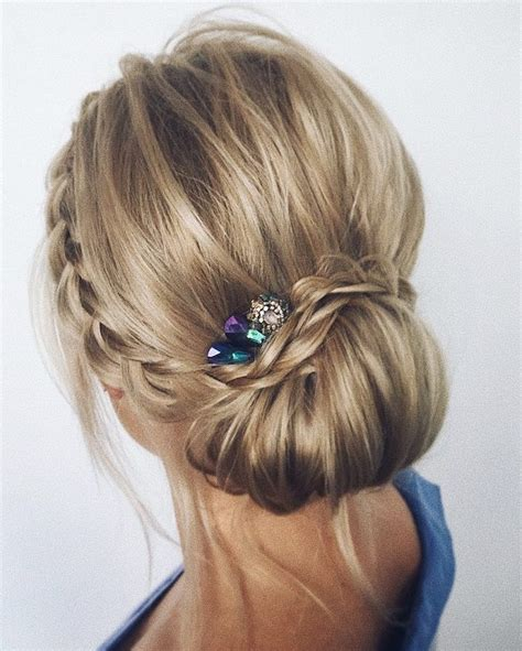 this beautiful updo wedding hairstyle idea will inspire you
