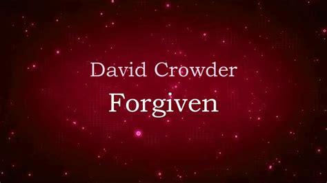David Crowder (lyric Video) Hd