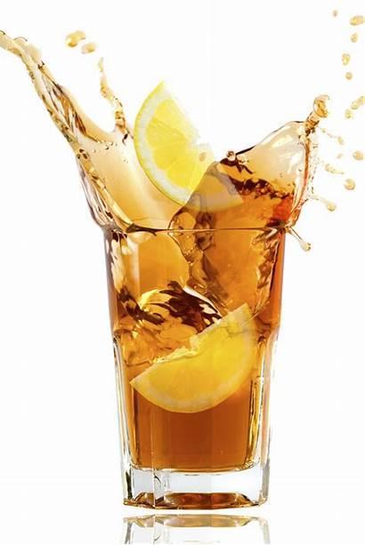 Iced Tea Cold Sweet Lemon Summer Heat