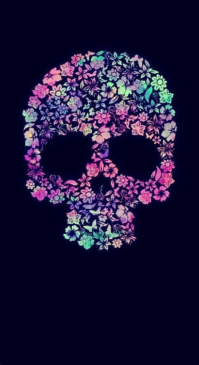 Fondos Galaxy Pantalla Skull Calaveras Fondo Floral