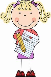 Free Clip Art Children Writing | Clipart Panda - Free ...