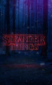 Stranger Things Text Poster  Full Hd Wallpaper