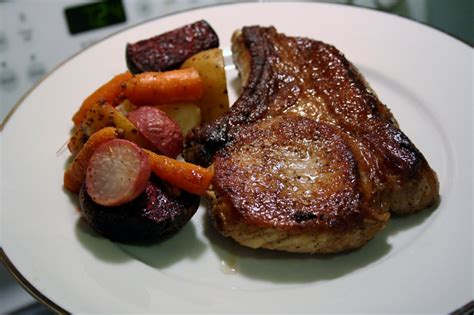 how do you pan fry pork chops roasted vegetables pan fried pork chops and the art of simple food wholistic woman