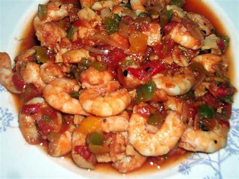 recette cuisine regime recette de jambalaya aux crevettes régime dukan